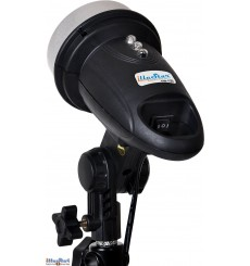 FM-120 - Mini Flash, réglable 120/60 Ws (Joule), Lampe pilote 34 LED - illuStar
