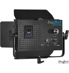 LEDP-900-DMX - 54W Eclairage LED de studio Vidéo & Photo, 5400°K, 6480 lm, DMX-512, Support de batterie V-Mount, DC 12V~24V