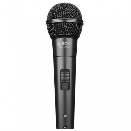 Boya Dynamic Handheld Vocal Microphone BY-BM58