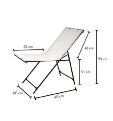 ST-60130 - Table de prise de vue 60x130cm, repliable