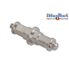"SPD4M8M - Spigot 5/8"" double - 68mm (mâle 1/4"" - mâle 3/8"") - illuStar"