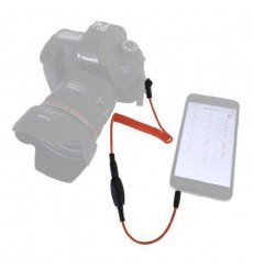 Miops Smartphone Shutter Release MD-F1 with F1 cable for Fuji