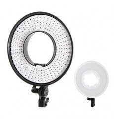 Falcon Eyes Bi-Color LED Ring Lamp Dimmable DVR-300DVC on 230V